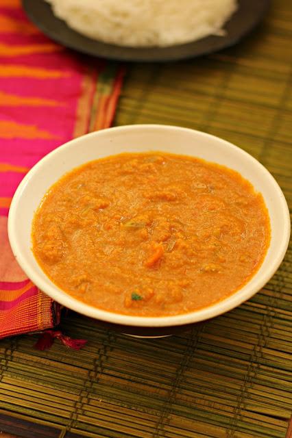 Vegetable kurma restaurant style1