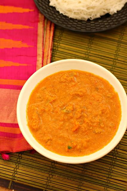 Vegetable kurma restaurant style3