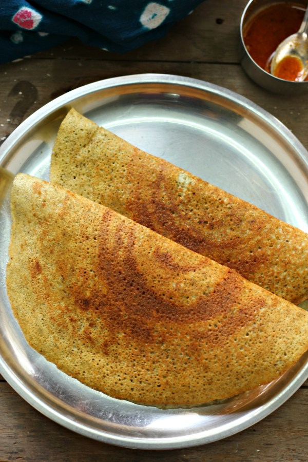 Sprouts dosai, crispy, delicious dosai that is healthy too
