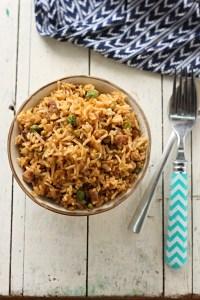 Nasi Goreng with brown rice