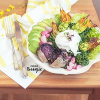 Zucchini Blossom Salad