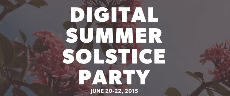 Summer Solstice #FBMSUMMERSOLSTICE Party!