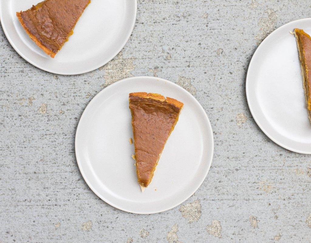 Pumpkin Pie (Gluten-free, Grain-free, Dairy-free)