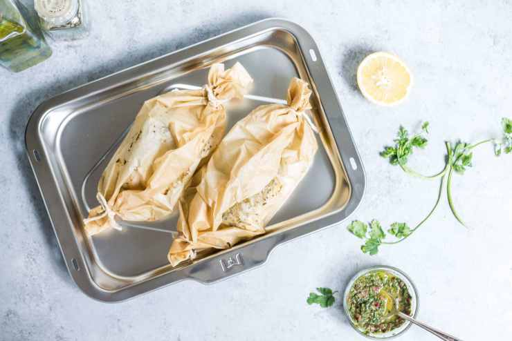 Halibut en Papillote for WOLF Gourmet via Food by Mars