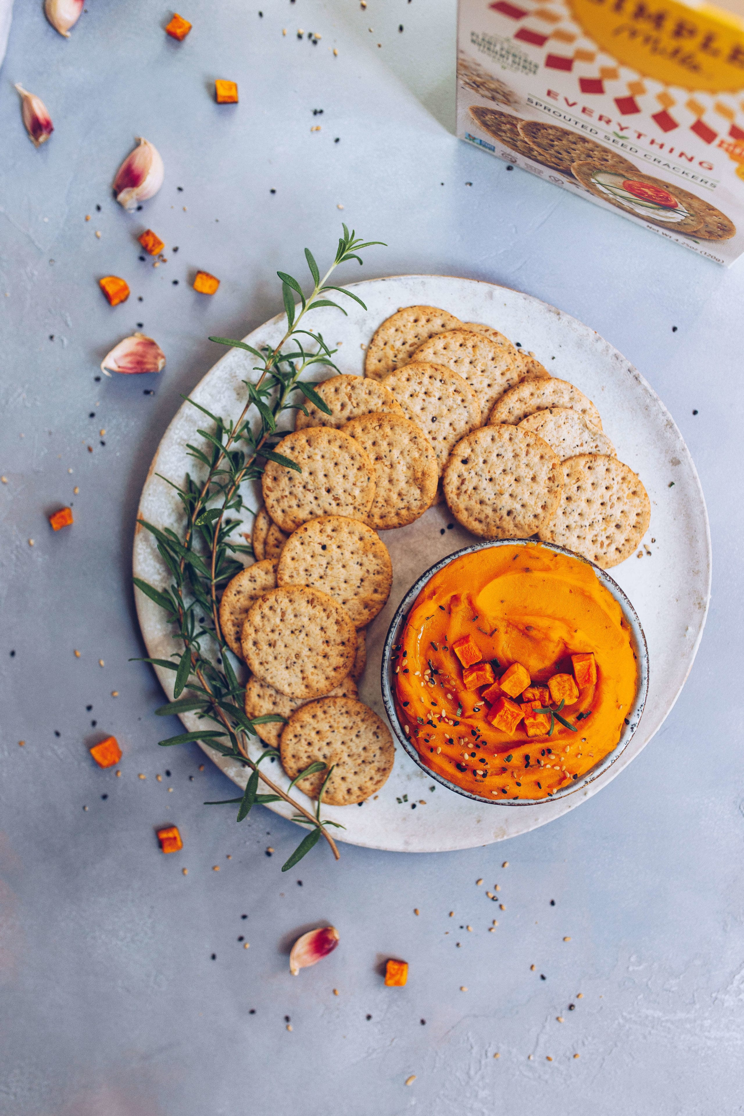 Roasted Garlic & Butternut Squash Dip (paleo, AIP-friendly) via Food by Mars