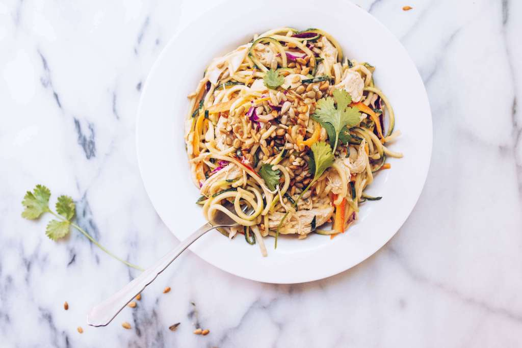 Sunflower Seed Butter Pad Thai (paleo, whole30) via Food by Mars