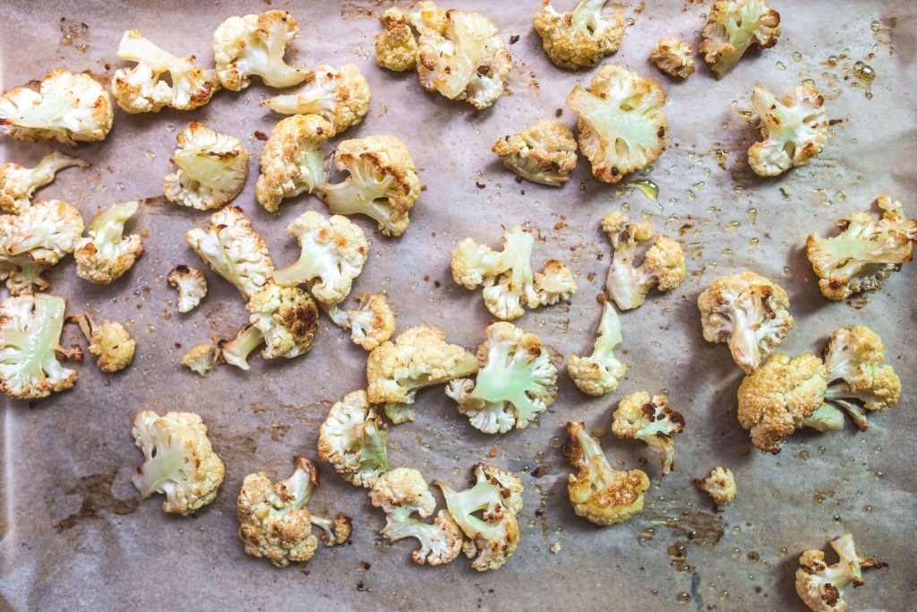 Everything Tahini Roasted Cauliflower (paleo, Whole30) via Food by Mars