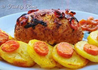 Mușchi de porc marinat în mandarină