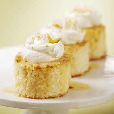 Coconut-Lime Tres Leches Cake
