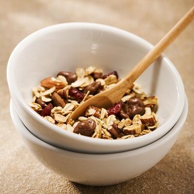 Crunchy Dark Cherry Raisinets Granola recipe