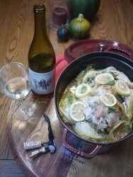 Roast chardonnay chicken with santa barbara herbs recipe