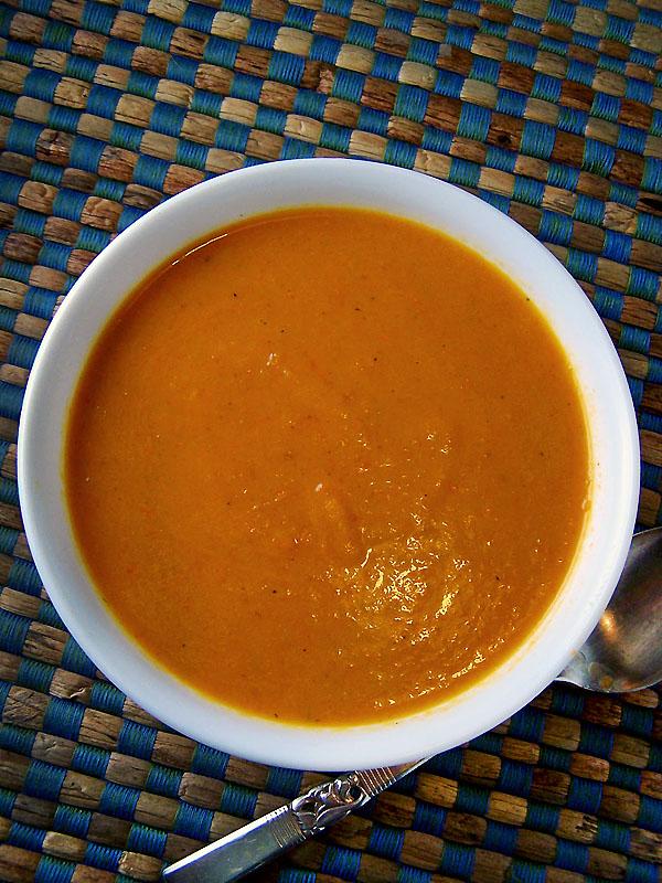 Tomato Ginger Carrot Soup