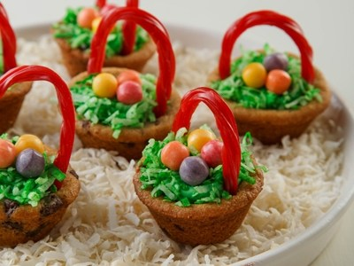 Chocolate Chip Easter Baskets