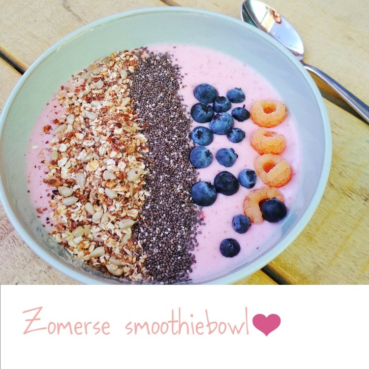 Zomerse smoothiebowl 2