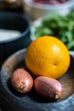 Fruchtiger Herbstsalat