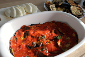 tomato and basilic sauce