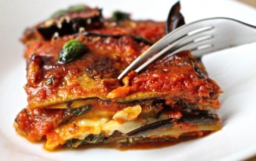 Eggplant Parmesane Served!