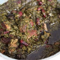 Ghormeh Sabzi - Persian stew of herbs