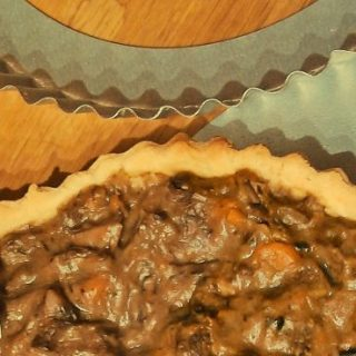 Short crust pastry pie crust
