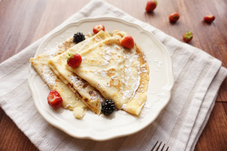 Crepes The French Pancake Food Crumbles