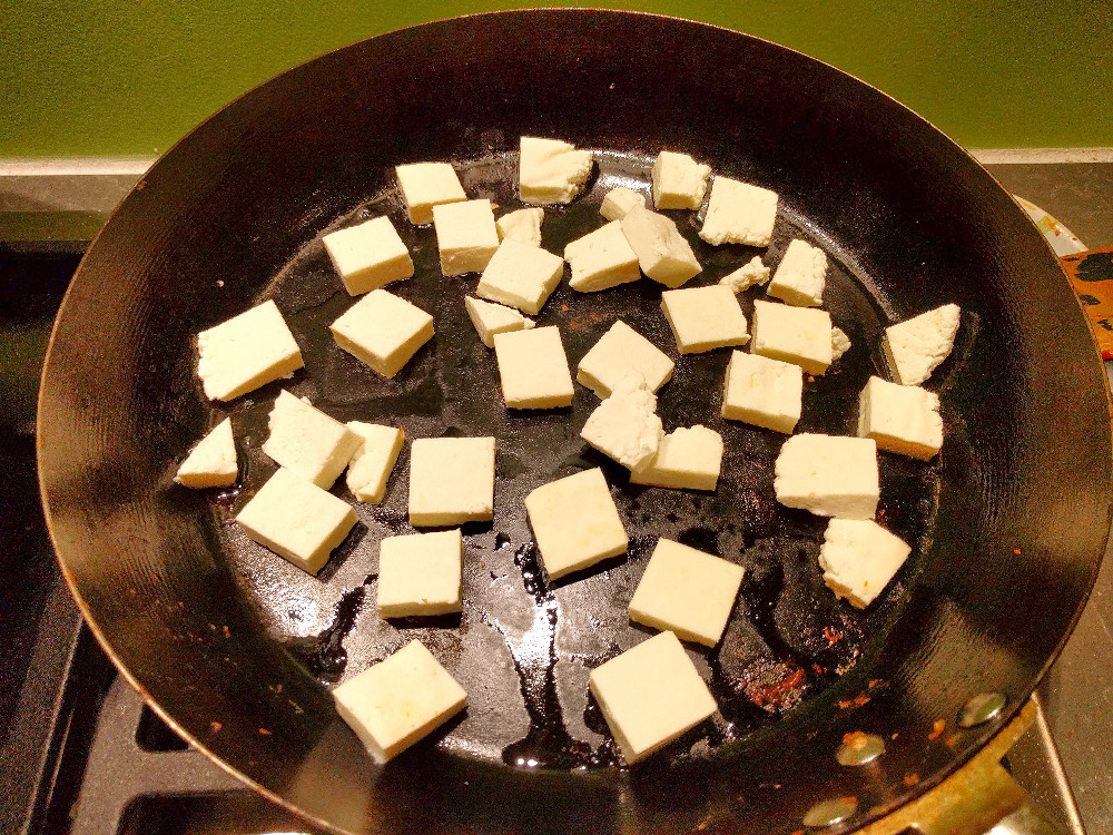 Homemade Cheese Science (1) – Indian paneer / Queso fresco