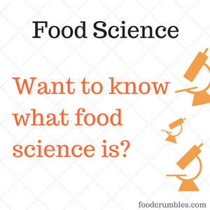 FoodCrumbles - What is food science
