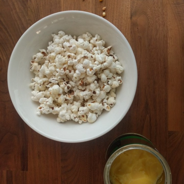Making your own stovetop popcorn