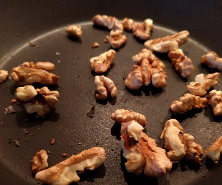 baking walnuts