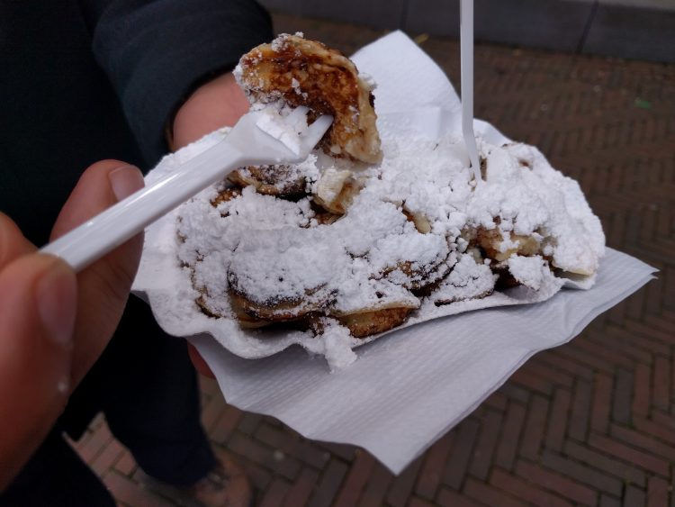 poffertjes from the fair