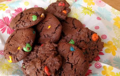 M&M chocolate cookies 2