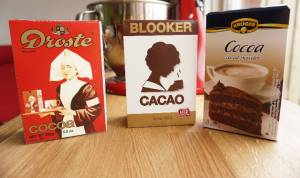the three cocoa powders tested