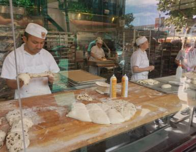 boudin bakery bakers at work