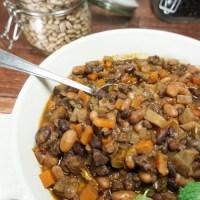InstantPot pressure cooked beef stew