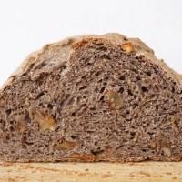 Walnut buckwheat bread