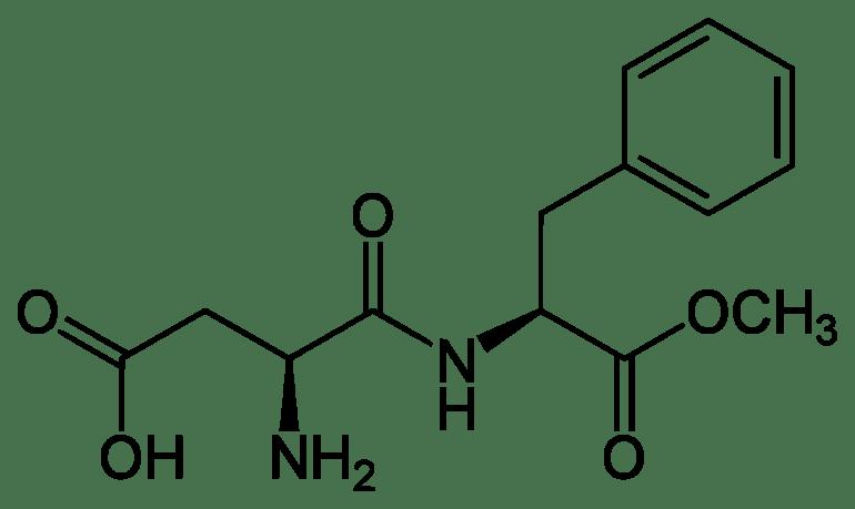 aspartame structural formula