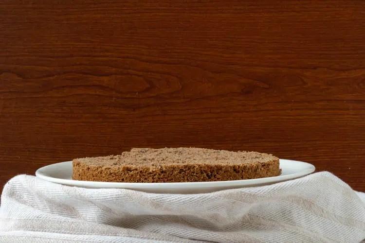 bottom layer - cake