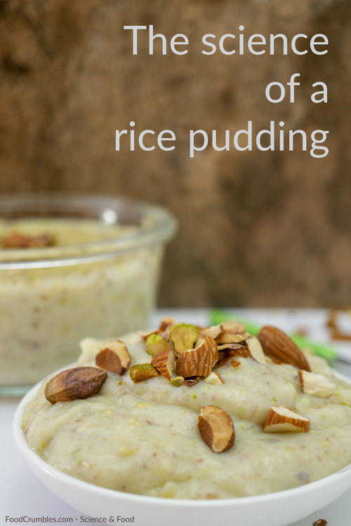Why is a rice pudding creamy? Which rice should you be using? And why do you even use rice for pudding? We disucss it all when discussing the science of a rice pudding.