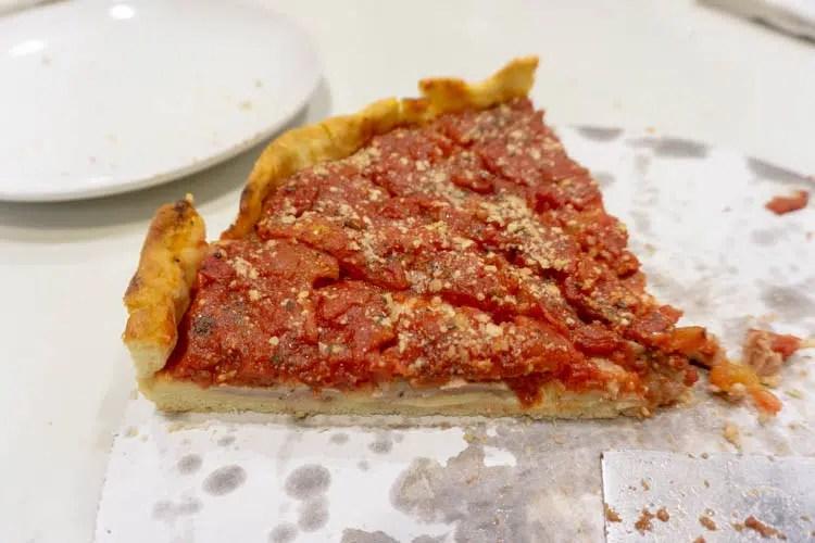deep dish pizza from my pi pizza