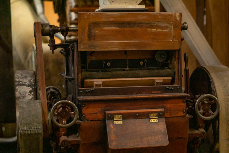 old roller mill
