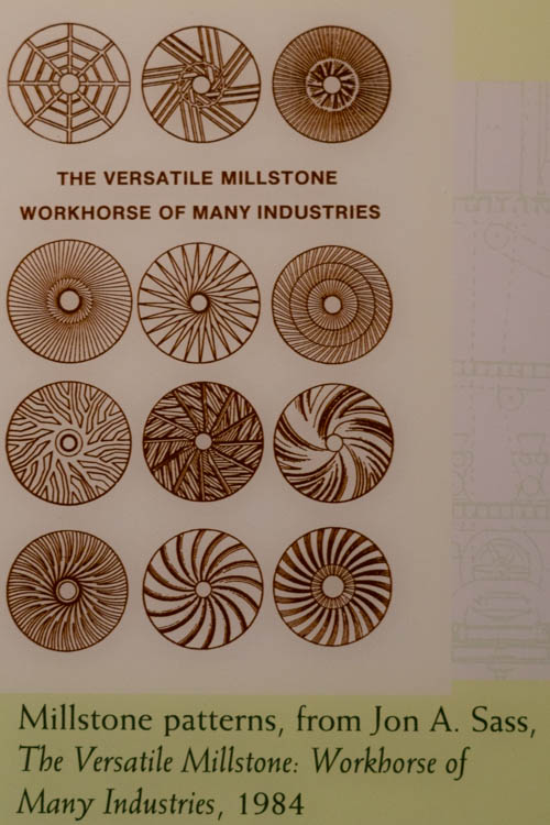 various mill stone designs