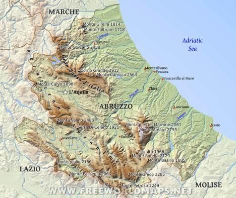 abruzzo region italy