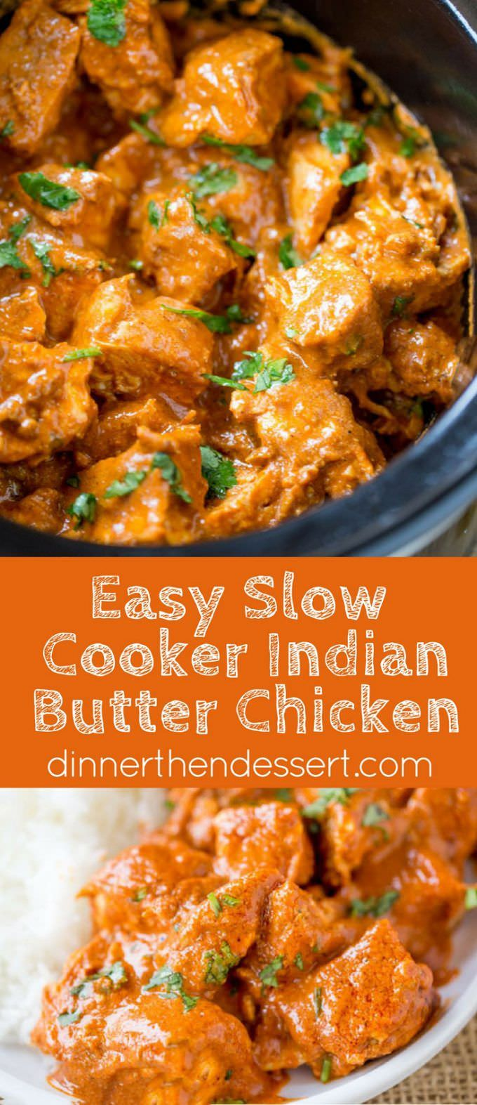 Mouthwatering Slow Cooker Indian Butter Chicken Recipe ...