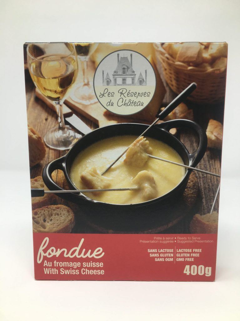 Les Reserves du Chateau Fondue with Swiss Cheese
