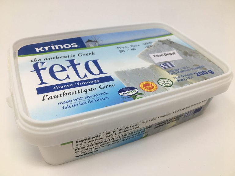 The Authentic Greek Feta made with Sheep Milk