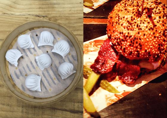 Burgers vs Dimsum