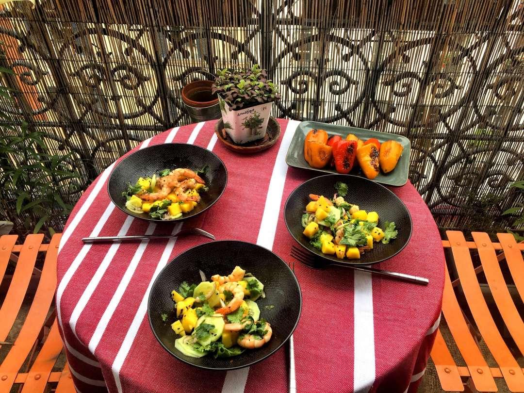 salade inspiration asiatique