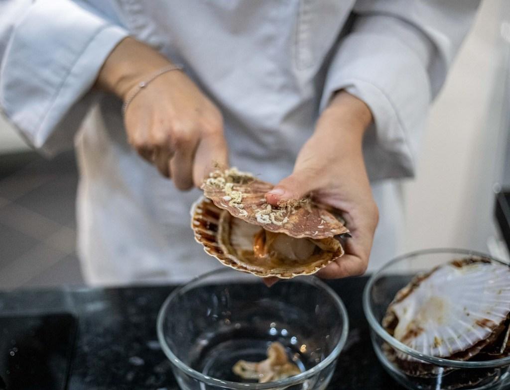 la fine gastronome saint jacques