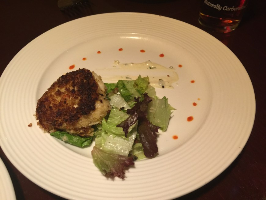 Crab Cake made with NC Blue Crab