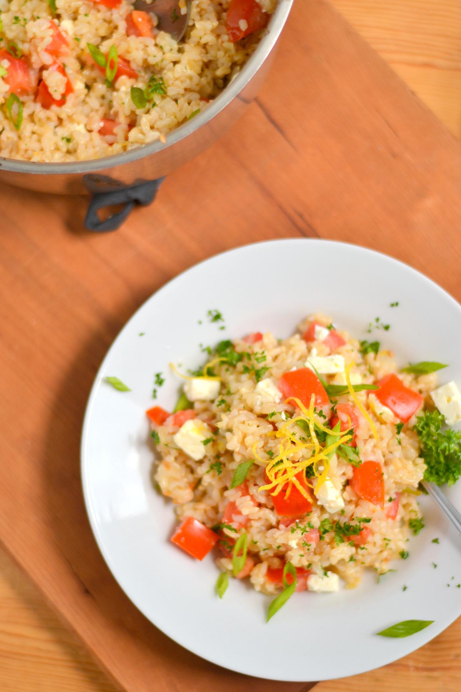 how to prepare brown rice recipe