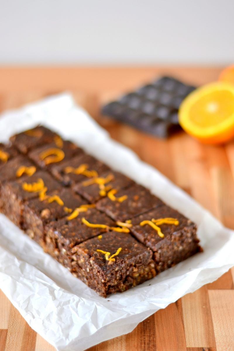 Chocolate Orange Larabar Bites